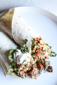 Cheesesteak Burritos