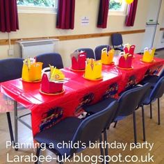 Larabee:  ORGANISE planning a childs birthday party - part 1