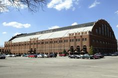 """Hinkle Fieldhouse on the campus of Butler University.  Built in 1928, it was where """"Hoosiers"""" was filmed and is the home of the Bulldogs.  Go Dawgs!"""