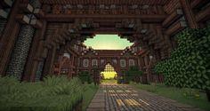Medieval Minecraft Castle and Village
