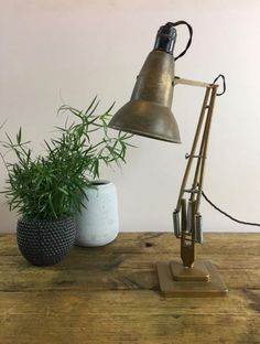 Vintage George Carwardine for Herbert Terry anglepoise lamps available from Lovely & Co. Desk Lamp, Table Lamp, Anglepoise Lamp, Danish Modern, Vintage Furniture, Lighting Design, Repurposed, Jazz, Lamps