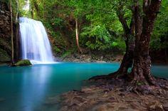 Erwan Falls, Kanchanaburi - Thailand