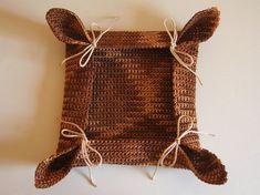 Crochet basket, photo tutorial, fast and easy/ Canasta a ganchillo, foto tutorial, rápida y sencilla
