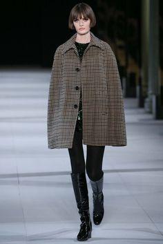 Saint Laurent Fall 2014 Ready-to-Wear Fashion Show - Sam Rollinson (Women)