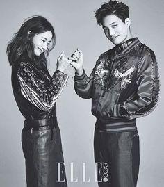 160116 | Kai & Yoona for ELLE Korea | February Issue ♡