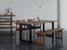 ワイルドウッド ダイニングテーブル [ ウォールナット ] WILDWOOD DINING TABLE(2951) - マスターウォールのダイニングテーブル | おしゃれ家具、インテリア通販のリグナ