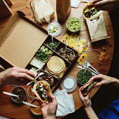 Charleston and Atlanta Taco Delivery, Comida Delivery, Delivery Food, Mexican Food Delivery, Mexican Restaurant Design, Taco Restaurant, Charleston Restaurant, Restaurant Specials, Mexican Restaurants