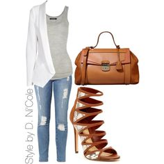 Untitled #1593, created by stylebydnicole on Polyvore