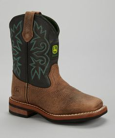 black wyatt croc cowboy boot by duck head on zulily today many