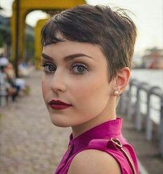 Um pixie perfeito. | 19 imagens de cabelos curtinhos MESMO para você se inspirar