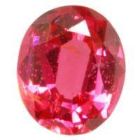 蛍光感溢れるピンク色のスピネル いわゆるホットピンクと呼ばれる色合いのルースです