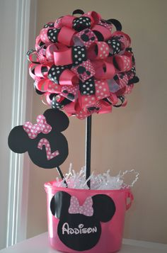 "Photo 10 of 16: Mickey Mouse Clubhouse or Minnie Mouse / Birthday ""Addison's Minnie Mouse Party"" 