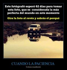 #reflection #photo #patience #foto #reflejo #auto #cielo #paciencia Curious Facts, Interesting Information, Foto Art, True Facts, Life Science, Cute Wallpapers, Did You Know, Illusions, Knowledge