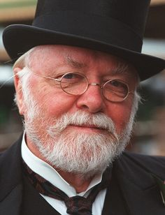 Sir Richard Attenborough (8/1923-8/2014), born in Cambridge, England, was a renown actor & director. Credits (as director): A Bridge Too Far-'77, Gandhi-'82, A Chorus Line-'85, Shadowlands -'93; as actor: The Mousetrap-'52, Jurassic Park-'93, Miracle of 34th Street-'94. He was older brother of naturalist & broadcaster, Sir David A. Married to actress Sheila Sim from 1945 til his death; 3 kids. In 12/04, daughter, Jane & g-daughter, Lucy, died in tsunami from Indian Ocean earthquake.