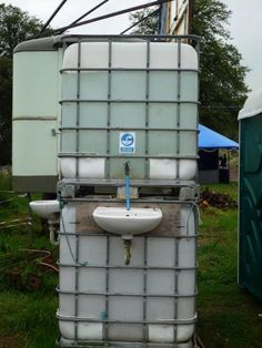 Offgrid handwashing solution