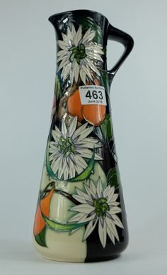 Top 25 Highest Selling Lots - Collectors & General Auction – Lot 463 – Moorcroft Costa Rica jug trial date 24/1/16 height 33cm. Sale Price £220.00