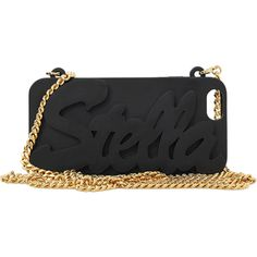 Stella Mccartney Stella Logo I-phone Clutch (€205) ❤ liked on Polyvore featuring accessories, tech accessories and stella mccartney