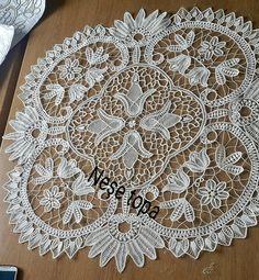 Crochet Motif, Irish Crochet, Crochet Lace, Crochet Patterns, Romanian Lace, Lace Art, Point Lace, Needle Lace, Lace Making