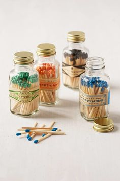 Shop Safety Matches Jar at Urban Outfitters today. We carry all the latest styles, colors and brands for you to choose from right here. Unique Candles, Diy Candles, Beautiful Candles, 32 Cool, Candle Packaging, Bottle Design, Candle Making, Decorative Accessories, Gift Guide