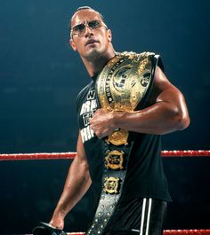 WWE World Heavyweight The Rock ""