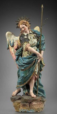 Religious Images, Religious Art, Angel Sculpture, Sculpture Art, Gardian Angel, Female Monster, God Tattoos, Superman Art, Jesus Christ Images