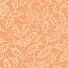 Summer Blooms Paper Pack - Blue Orange Ivory - For Personal & Commercial Use. $5.00, via Wisteria Design Studio, Etsy.