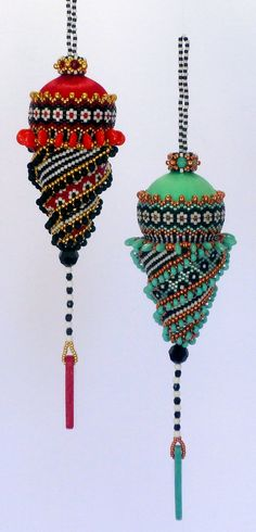 TUTORIAL Doodad #2 Spiral Ornament | Mikki Ferrugiaro Designs $10.00