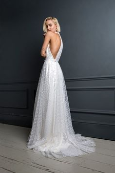 Backless wedding dresses and dresses with back detailing are huge trend this year; check out our edit of the best embellished back wedding dresses Kate Wedding Dress, Budget Wedding Dress, Sweet Wedding Dresses, Rental Wedding Dresses, Wedding Dress Prices, Wedding Dress Boutiques, Custom Wedding Dress, Gorgeous Wedding Dress, Wedding Dress Shopping