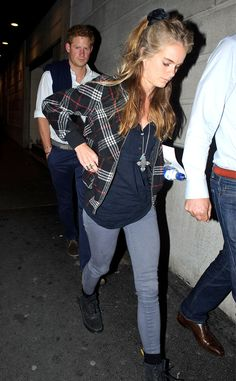 Harry and Cressida went on a second date night in a week by attendinga Book of Mormon performanceat The Prince of Wales Theater.
