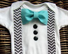 Ropa  niños pajarita  bebé niño traje de Pascua  por SewLovedBaby