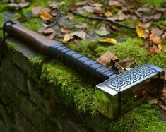 Blacksmith Hammer, Hammer Tool, War Hammer, Larp, Power Hammer Plans, The Helm Of Awe, Viking Axe, Special Symbols, Thors Hammer