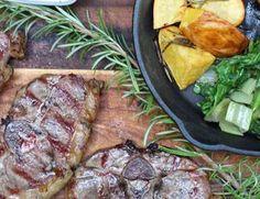 Rezept Tipp: Lammkrone / Mangosauce - Falstaff Falstaff, Tonka Bohne, Pak Choi, Brunch, Steak, Pork, Gourmet, Dried Tomatoes, Meat