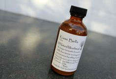 Clove Mouth Wash VEGAN All Natural No Chemicals Helps Fight Cavities Made with Trace Minerals