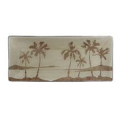 SONOMA life + style Palm Leaf Rectangle Serving Platter