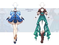 [Close] Adoptable Outfit Auction by LifStrange on DeviantArt Clothing Sketches, Dress Sketches, Dress Drawing, Drawing Clothes, Fashion Design Drawings, Fashion Sketches, Anime Outfits, Cool Outfits, Hero Costumes
