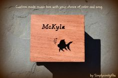 music box music boxes wooden music box custom by Simplycoolgifts, $54.00