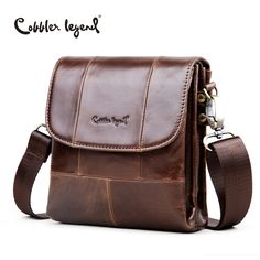 fd2a258ebd28 Cobbler Legend Original Real Cowhide Leather Men Bag For Man 2017 New  vintage Style Men s Mini Cross Body Shoulder Bags  911048-in Crossbody Bags  from ...