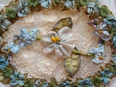 Ribbon embroidery by annes.attic.33