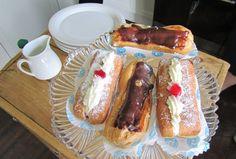basically a sweet hot dog bun will with british goodness.