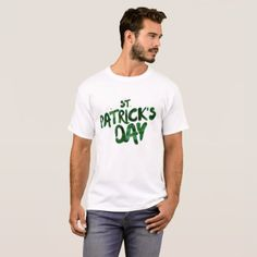 St Patrick's Day Green Clover Irish Celtic T-Shirt - st patricks day gifts Saint Patrick's Day Saint Patrick Ireland irish holiday party