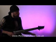 Exclusive Andy James guitarist video   My Guitar Lessons. How to use a guitar noise gate.