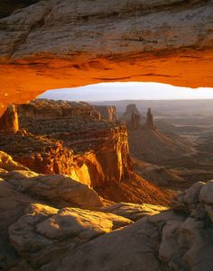 USA, Utah, Canyonlands NP, Mesa Arch on a winter sunrise by Danita Delimont