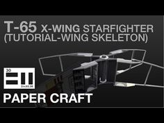 undefined X Wing, Starwars, Skeleton, Printer, Miniatures, Youtube, Diy, Bricolage, Star Wars