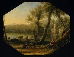 The Athenaeum - Pastoral landscape (Claude Lorrain - )