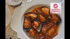 Mejillones en salsa marinera, Cuchillito y Tenedor *34*