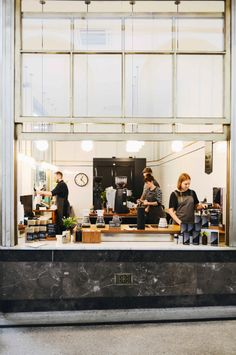 Spicer + Bank: by Allison Egan: Coffee + Inspiration: Melbourne Coffee Shop Design, Cafe Design, Bakery Cafe, Commercial Design, Commercial Interiors, Café Bistro, Queen Victoria Market, Café Bar, Restaurants