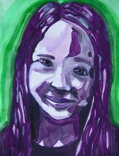 Color Scheme Self-Portrait! - Artsonia Lesson Plan