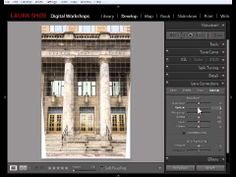 Lightroom 5 Tutorial: Using Upright to Straighten Photos and Correct Perspective - YouTube