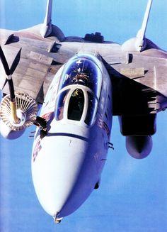 F-14 getting a drink