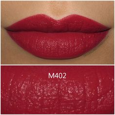 Make Up For Ever Artist Rouge Mat Lipstick in M402 - Review and Swatches